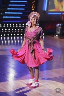 Cloris Leachman: Still wacky (or maybe wackier) while dancing as