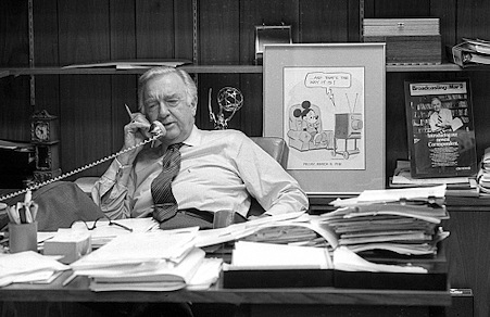 Walter Cronkite Up Close Memories Of The Late Great Journalist For