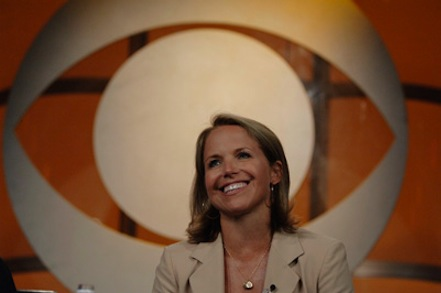 Woman of the year: CBS had its eye trained on Katie Couric.