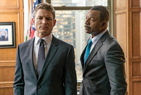 Wolf's at the door again, this time with Chicago Justice